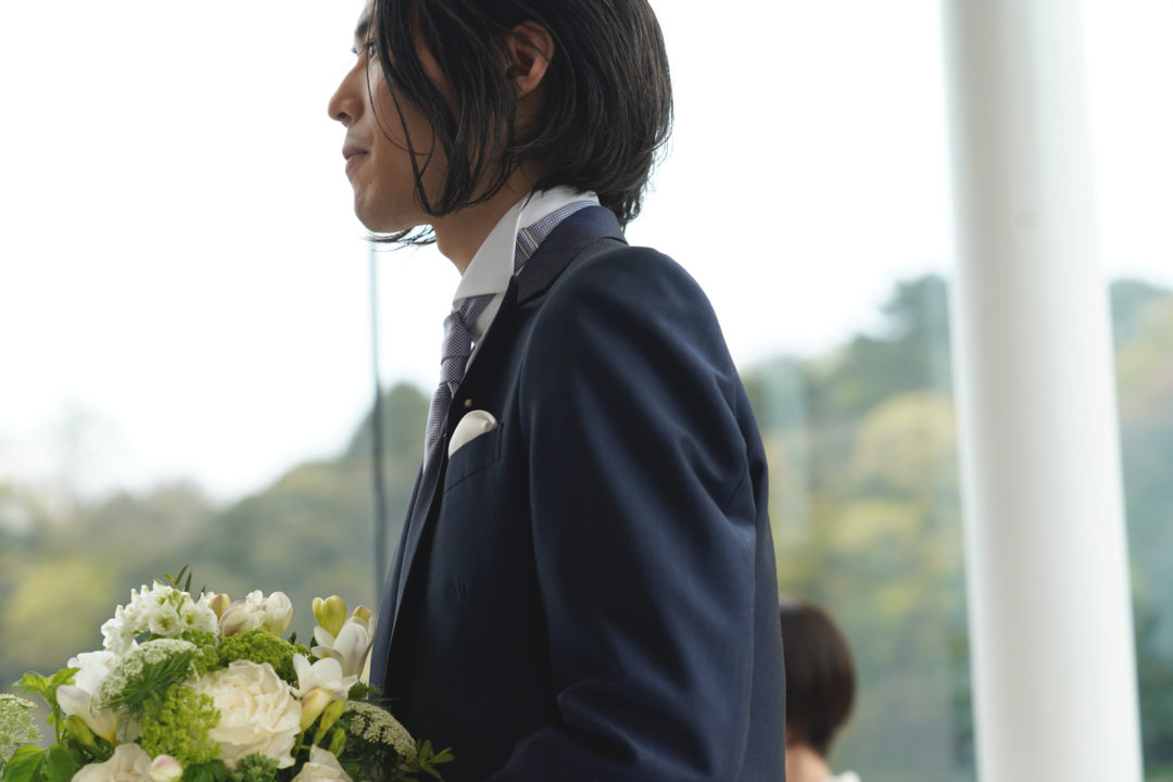 wedding 花婿ヘアメイクスタイリング